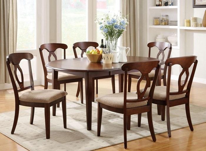 Tư vấn cách lựa chọn bàn ăn đẹp 6 ghế đơn giản-5