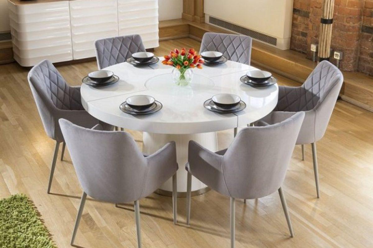 Tư vấn cách lựa chọn bàn ăn đẹp 6 ghế đơn giản