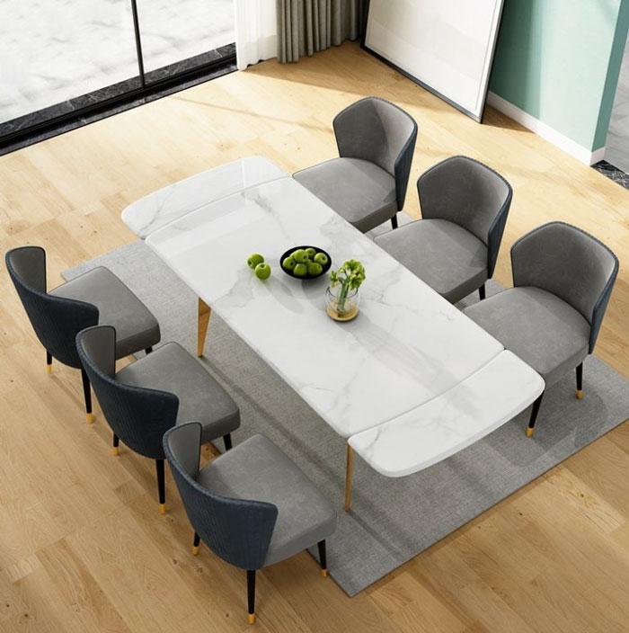 Tư vấn cách lựa chọn bàn ăn đẹp 6 ghế đơn giản-7