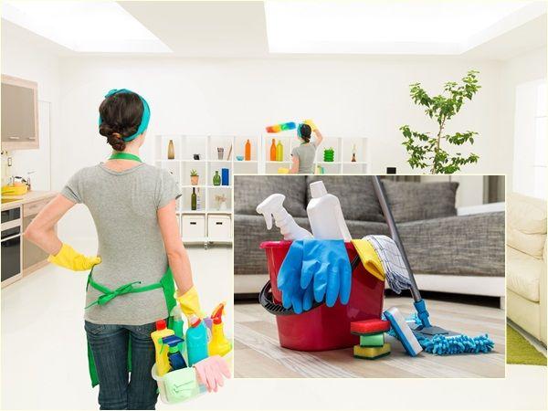 Chia sẻ cách vệ sinh nhà siêu nhanh siêu sạch
