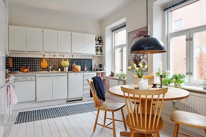 Gợi ý những bộ bàn ăn cho bếp nhỏ và cách bố trí phù hợp-10