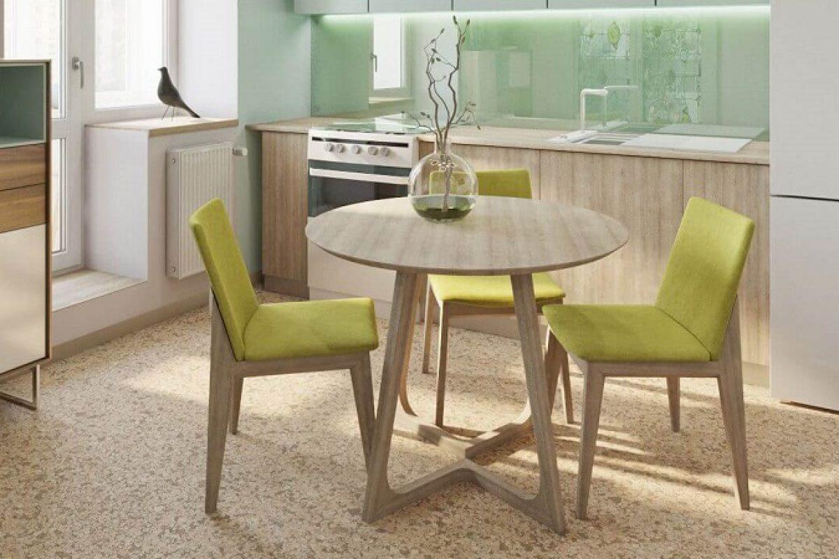 Gợi ý những bộ bàn ăn cho bếp nhỏ và cách bố trí phù hợp