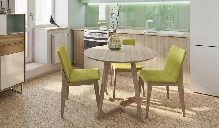 Gợi ý những bộ bàn ăn cho bếp nhỏ và cách bố trí phù hợp-16