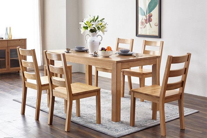 Khám phá bàn ăn gỗ sồi hiện đại qua 5 ưu điểm nổi trội-2