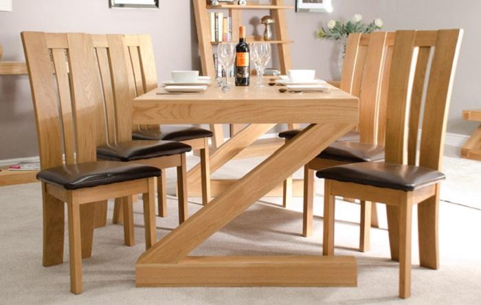 Khám phá bàn ăn gỗ sồi hiện đại qua 5 ưu điểm nổi trội-3