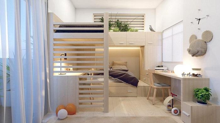 10+ Ý tưởng tiết kiệm diện tích cho nhà nhỏ-6