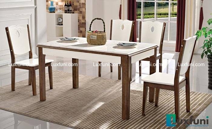 Review 3 mẫu bàn ăn mặt đá hiện đại đẹp mê li-5