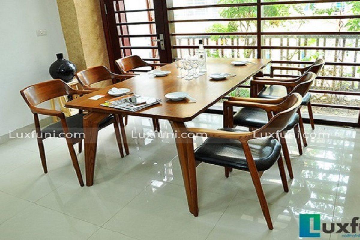 Tổng hợp 10+ mẫu bàn ghế ăn gỗ đẹp hiện đại