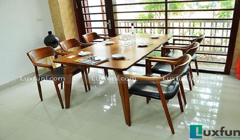 Tổng hợp 10+ mẫu bàn ghế ăn gỗ đẹp hiện đại -0