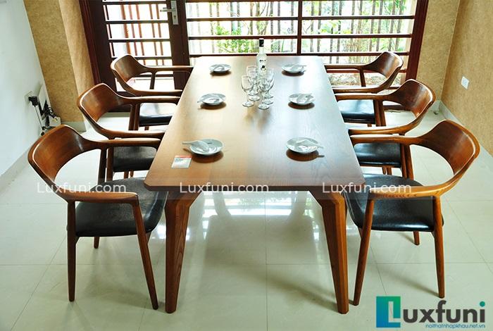 Tổng hợp 10+ mẫu bàn ghế ăn gỗ đẹp hiện đại -10