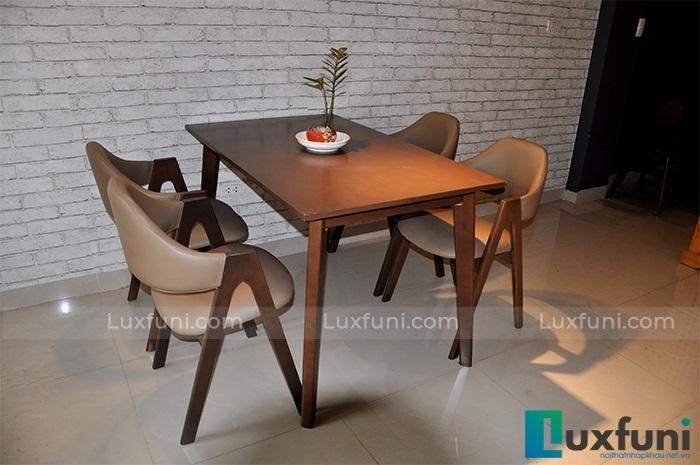 Tổng hợp 10+ mẫu bàn ghế ăn gỗ đẹp hiện đại -2