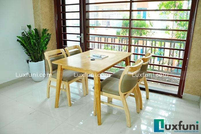 Tổng hợp 10+ mẫu bàn ghế ăn gỗ đẹp hiện đại -9