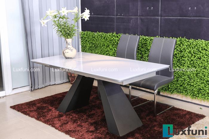 Mê mẩn với 4 mẫu bàn ăn 8 ghế hiện đại dành cho gia đình đông người-4
