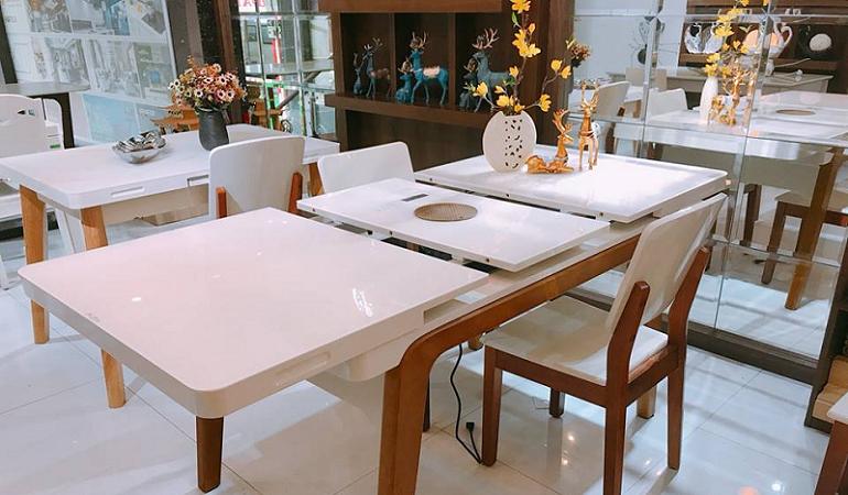 Tổng hợp mẫu bàn ăn gấp thông minh cho không gian bếp nhỏ-0