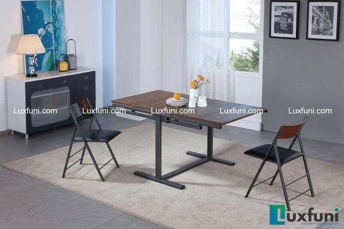 Tổng hợp mẫu bàn ăn gấp thông minh cho không gian bếp nhỏ-3