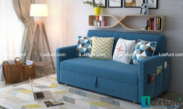 ghế sofa giường- tiện lợi và hiện đại.