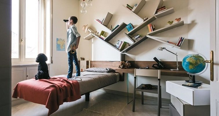 Kệ sách thông minh - giải pháp cho nhà diện tích hẹp-6