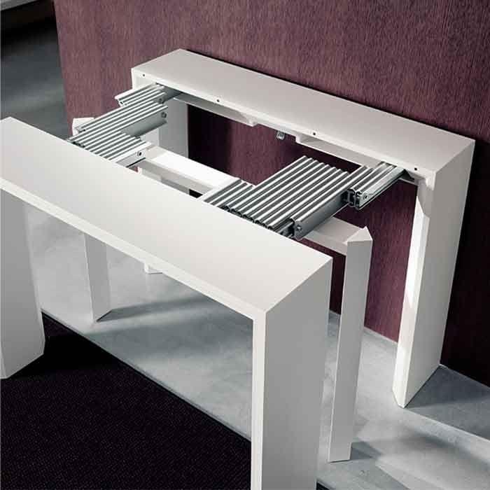cấu tạo kéo mở của bàn ăn thông minh kéo dài