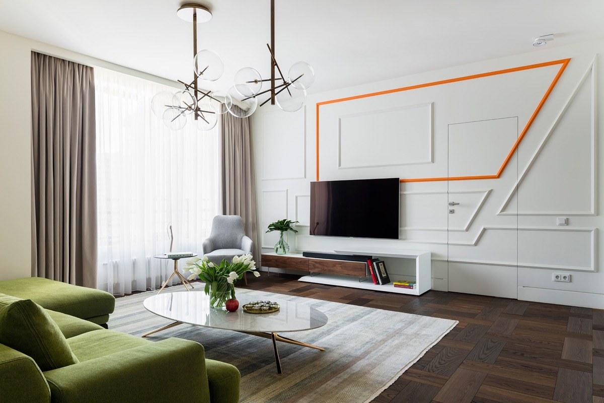 Cách trang trí phòng khách chung cư đẹp, ấn tượng-15