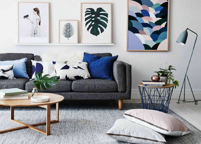 Cách trang trí phòng khách chung cư đẹp, ấn tượng-4