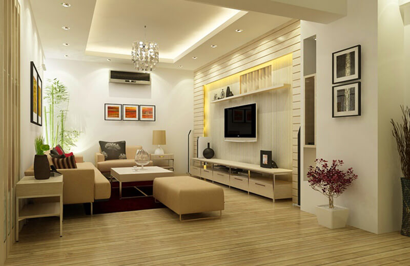 Cách trang trí phòng khách chung cư đẹp, ấn tượng-9