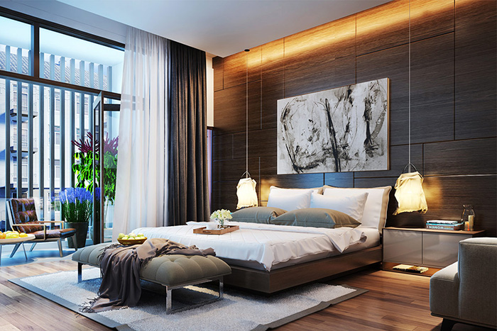 Mách bạn cách trang trí phòng ngủ