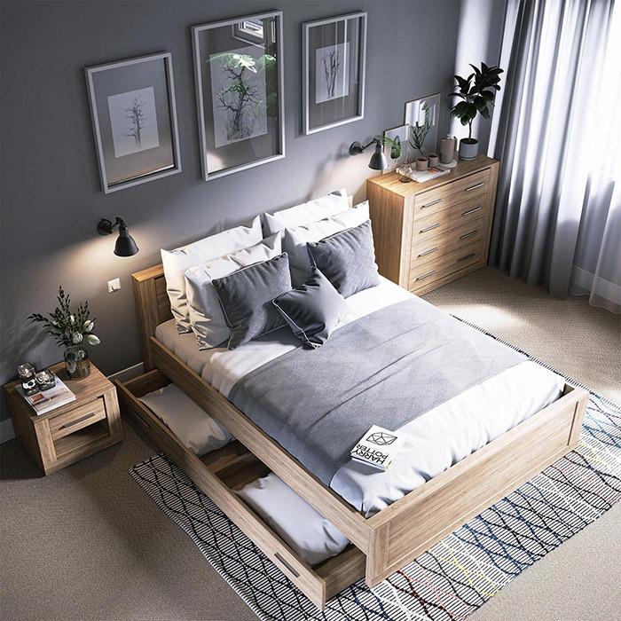 Mách bạn cách trang trí phòng ngủ tuyệt vời