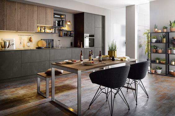 Phòng bếp được coi là nơi giữ lửa hạnh phúc của mỗi gia đình