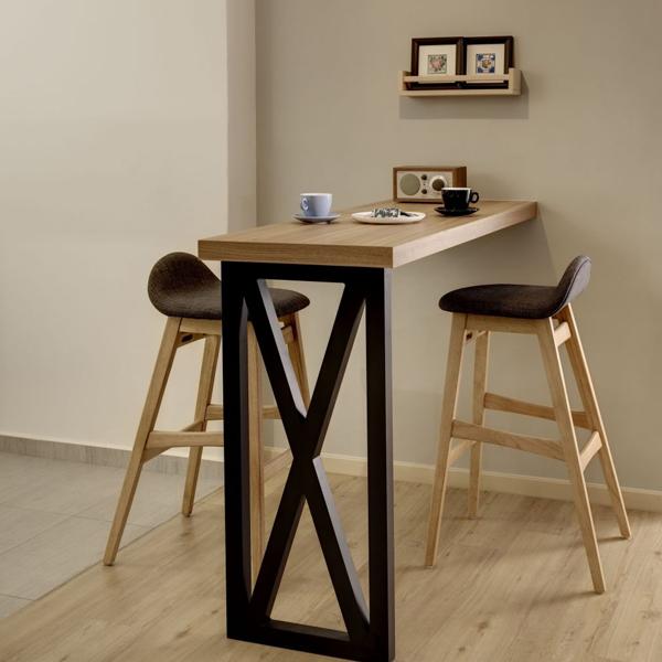 bàn ăn gấp tường dạng gấp