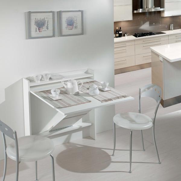 bàn ăn gấp tường nhỏ gọn