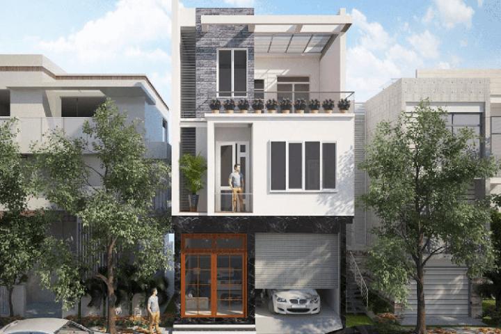 Thiết kế nhà phố 3 tầng đẹp hiện đại được yêu thích nhất