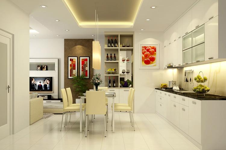 Mẫu thiết kế tủ bếp hiện đại và tiện dụng