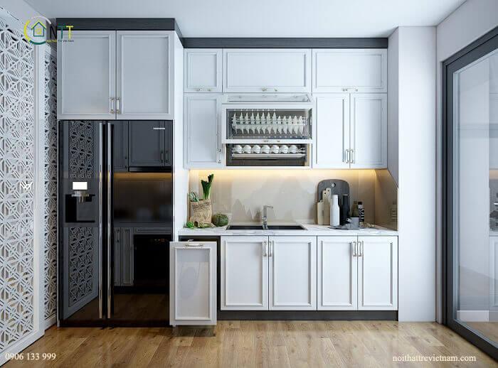 Mẫu thiết kế tủ bếp hiện đại