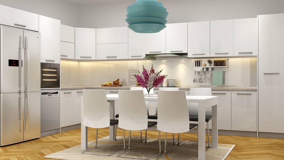 Thiết kế nhà bếp hiện đại và tiện dụng đẹp