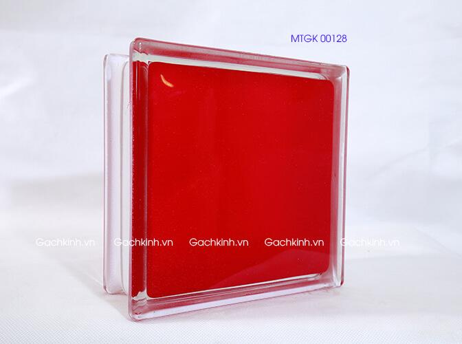 Gạch kính Indonesia mặt phẳng đỏ mịn