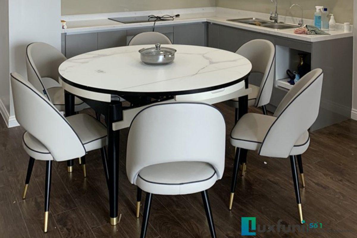 5 tiêu chí lựa chọn bộ bàn ghế ăn đẹp phù hợp với không gian bếp